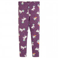 Leggings Einhorn lila