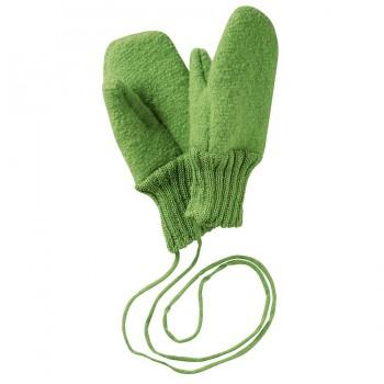 Walk Handschuhe 100% Merino Schurwolle - grün