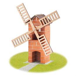 Steinbaukasten Windmühle 100tlg 6-12+ Jahre