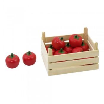 Gemüsekiste für Kaufmannsladen - Tomaten