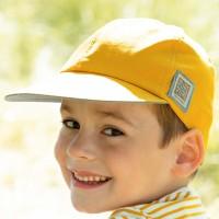 Kinder Capi navy mango-gelb
