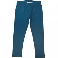 Elastische Uni Basic Leggings dunkelblau