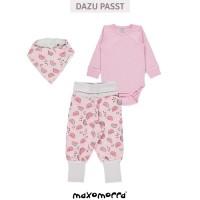 Vorschau: Bio Baby Body pastell rosa super soft
