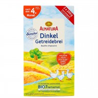Dinkel Getreidebrei für Babys nach dem 4. Monat (400g)