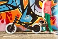"""Vorschau: Laufrad Dreirad mitwachsend """"3in1"""" black ab 12 Monaten"""