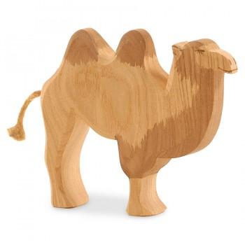Figur Kamel Holzfigur Esche 13,5 cm hoch