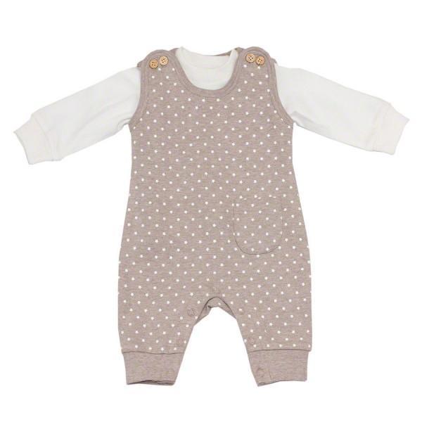 Sternen Babyset Strampler mit Shirt