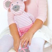 Vorschau: Kuscheltier Maus - für kleine Ballerinas!