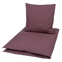 Edle Bettwäsche 135x100 violett