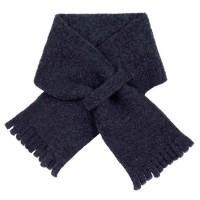Steckschal Wolle 70 cm ca 1-3 Jahre dunkelgrau