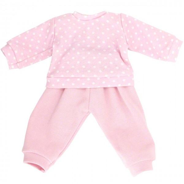Puppenkleidung: Schlafanzug (rosa)