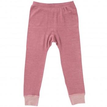 Wolle Seide Leggings rosé