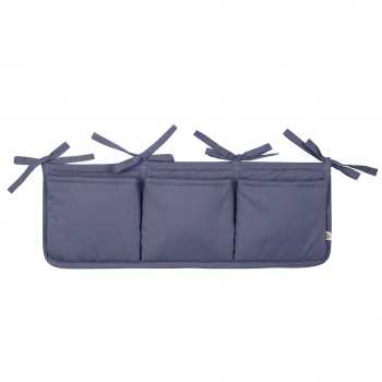 Bett-Aufbewahrungs-Box in lila