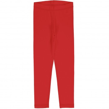 Uni Jersey Leggings in rot