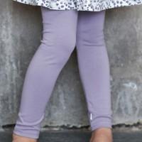 Leichte Leggings elastisch helllila