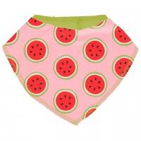 Leichtes Dreiecktuch Wassermelonen in rosa
