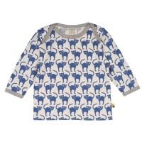 Vorschau: Tierisch süsse Shirts von loud and proud - pastellblau