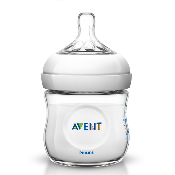 Milchflasche AVENT Naturnah 125 ml Gr. 0 m+