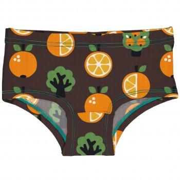 Hipster Orangen braun