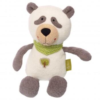 Bio Kuscheltier Schlenkertier Panda 28 cm