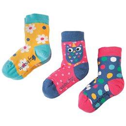 Bio Socken 3er Pack Mädchen