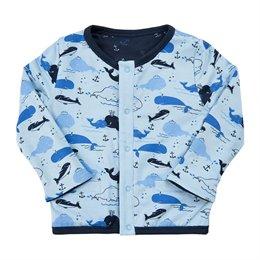 Wendejacke navy Anker oder Wale