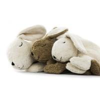Vorschau: Hase Kuscheltier & Wärmekissen Kirschkerne