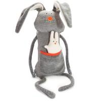 Moderner Hase wooly mit Greiftier