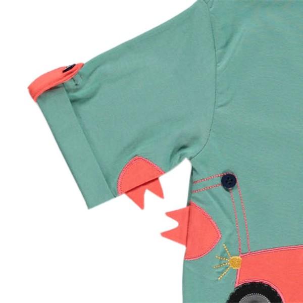 Traktor T-Shirt für Jungen in grün