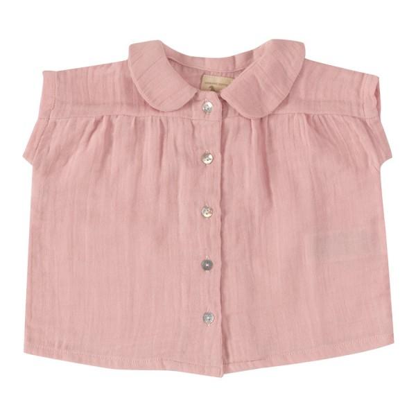 Musselin Sommer Hemd leicht in rosa