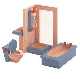 Zubehör Neo fürs Puppenhaus - Badezimmer