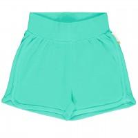 Leichte Jersey Shorts in türkis