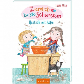 """Kinderbuch """"Ziemlich beste Schwestern - Quatsch mit Soße"""""""