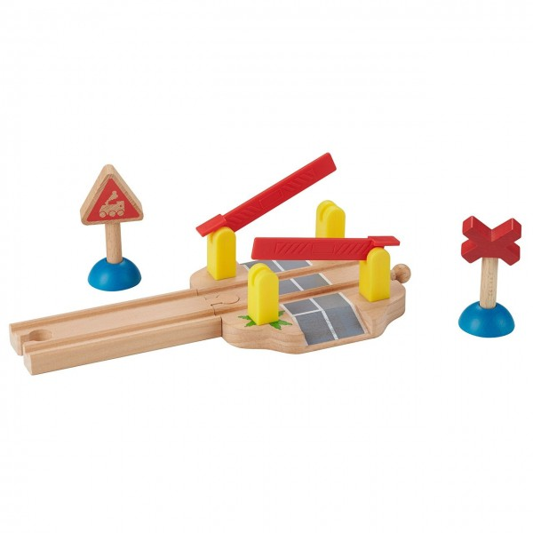 Bahnübergang - Zubehör Holzeisenbahn