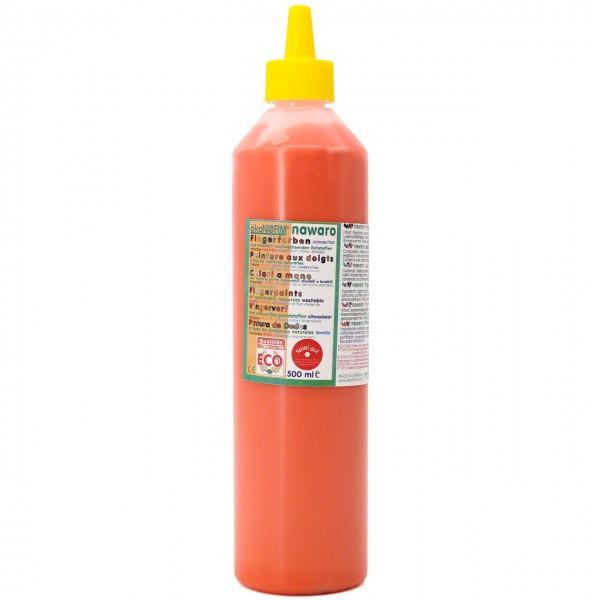 Fingerfarben 500 ml Schul- und Theaterfarbe orange