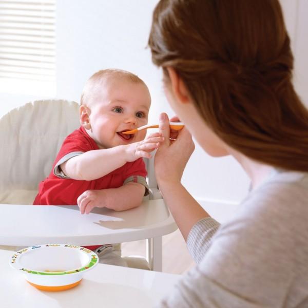 Esslöffel weich für Babys 2 Stück
