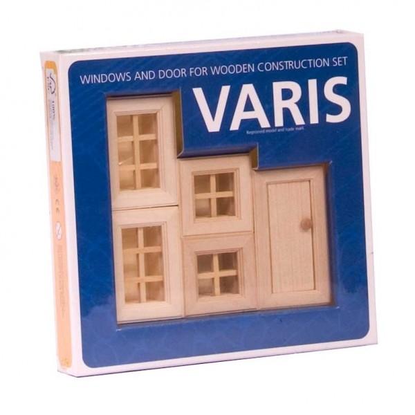 Fenster & Türen 5-tlg. Baukasten System - freies Bauen & kons