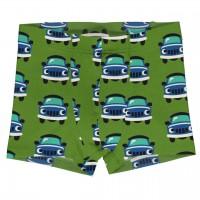 Boxershorts Auto grün