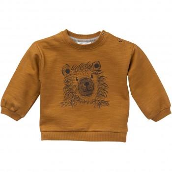 Sweatshirt mit Bär karamell