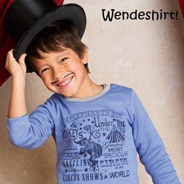 Cooles Wendeshirt für Babys & Kinder - warm und vielseitig!