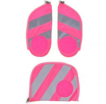 Sicherheitsset mit Reflektorstreifen (pink)