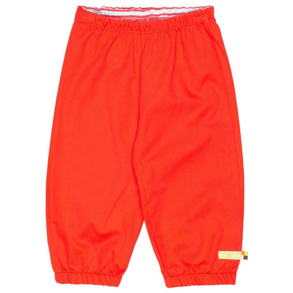 Leichte Outdoorhose rot - schmutzabweisend