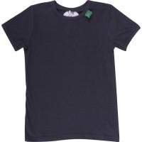 Uni Bio Kinder Shirt kurzarm - neutral Delphingrau