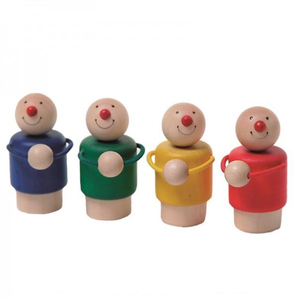 4 Spielfiguren creamobil MAXI - ergonomisch & vielseitig