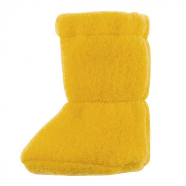 Bio Baby Füsslinge warm in gelb