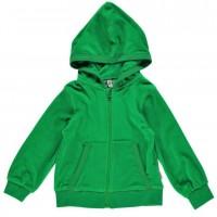 Vorschau: Warme Velours Jacke - kuschelig und warm grün