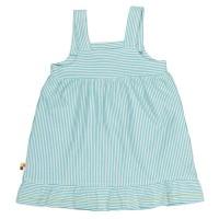 Vorschau: Mädchen Sommerkleid gestreift blau