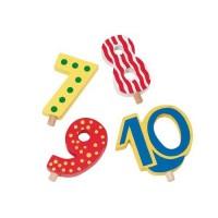 Zusatzzahlen für Geburtstagszug 7, 8, 9, 10