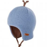 Baby Wintermütze beliebter Klassiker blau