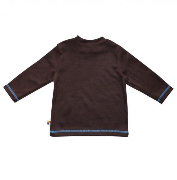 Weiches Langarmshirt mit Druckknöpfen